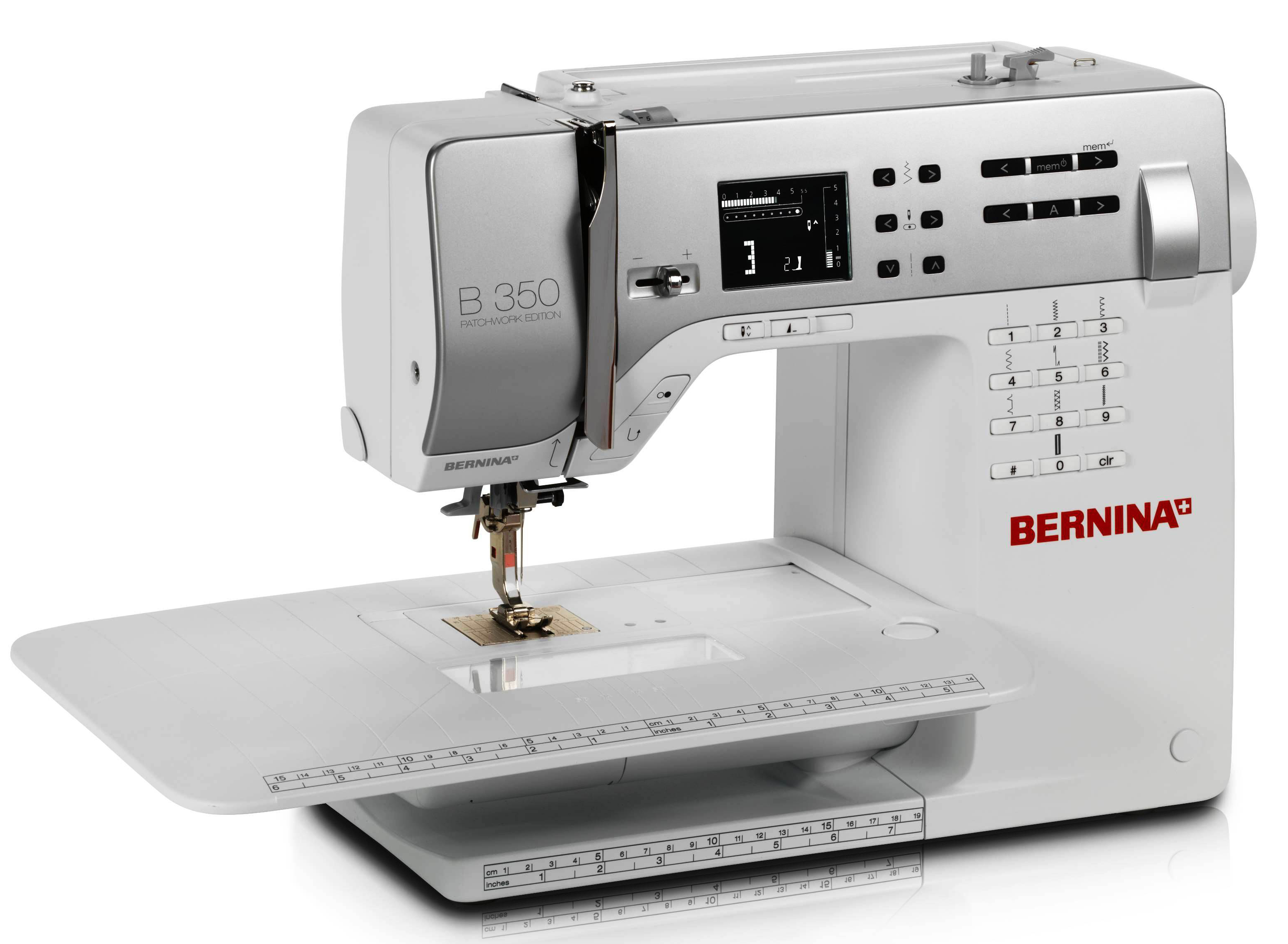 bernina n hmaschine 350 pe mit kniehebel und obertransportfu ebay. Black Bedroom Furniture Sets. Home Design Ideas