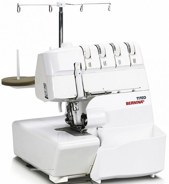 bernina overlock n hmaschine 1110 d 4 f dig ebay. Black Bedroom Furniture Sets. Home Design Ideas