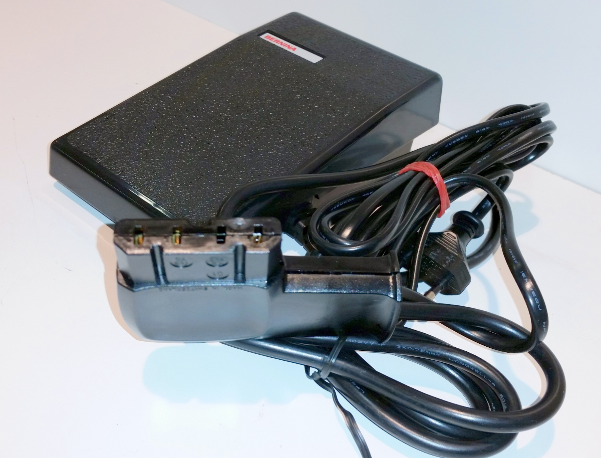 bernina fussanlasser typ 286 ersatz set kpl mit kabel und. Black Bedroom Furniture Sets. Home Design Ideas